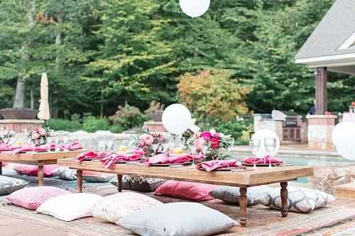 Events and Photo Shoots styled with specialty rental pieces by Paisley & Jade