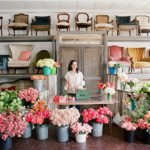 Floral workshop with Tulipina Design in the Paisley and Jade showroom at Highpoint and Moore in Richmond, Virginia