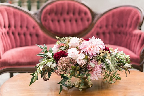 Romantic real wedding at the Meridian House in Washington DC with specialty rentals by Paisley and Jade