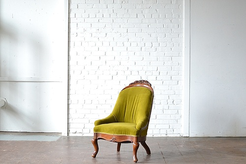 The Kells vintage chair available for rent by Paisley & Jade