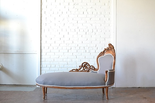 Marietta chaise lounge available for rent by Paisley & Jade