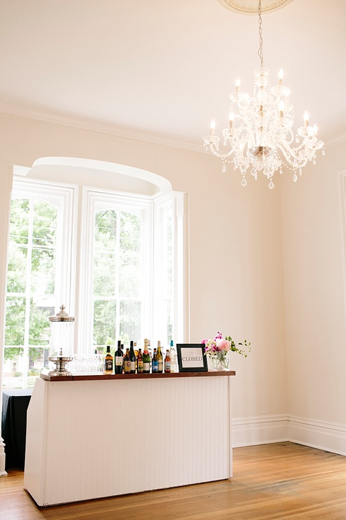 Colorful and chic wedding at the Merrimon Wynne House with specialty and vintage rentals by Paisley & Jade