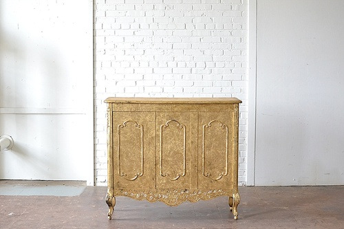 The Pattersons furniture collection styled beautifully with a gold and glam feel available for rent by Paisley & Jade