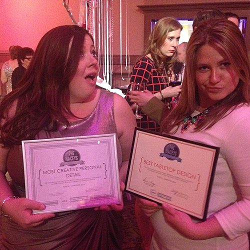 Paisley & Jade takes home a couple prizes after The NACEYs in Year 2! NACE is the National Association for Catering and Events and P&J attended the Richmond Chapters event!