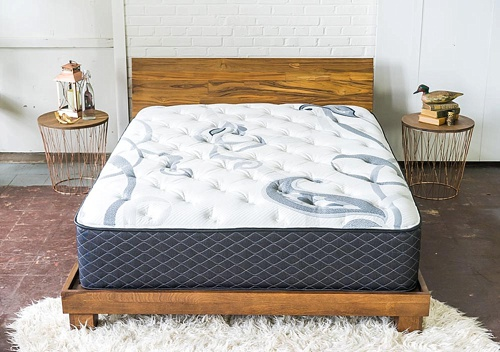 Modern and stylish product photo shoot with LUFT beds and Land of Adam at Highpoint and Moore with space and furniture rentals by Paisley & Jade