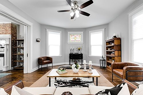 Paisley & Jade's vintage and specialty rental inventory made it on HGTV's Richmond Rehabbers!